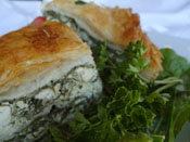 Spanakopita from Opa Grill Parker, Colorado