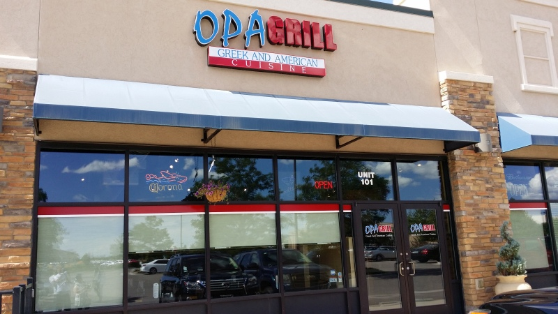 Opa Grill Parker, Colorado Greek and & American Cuisine